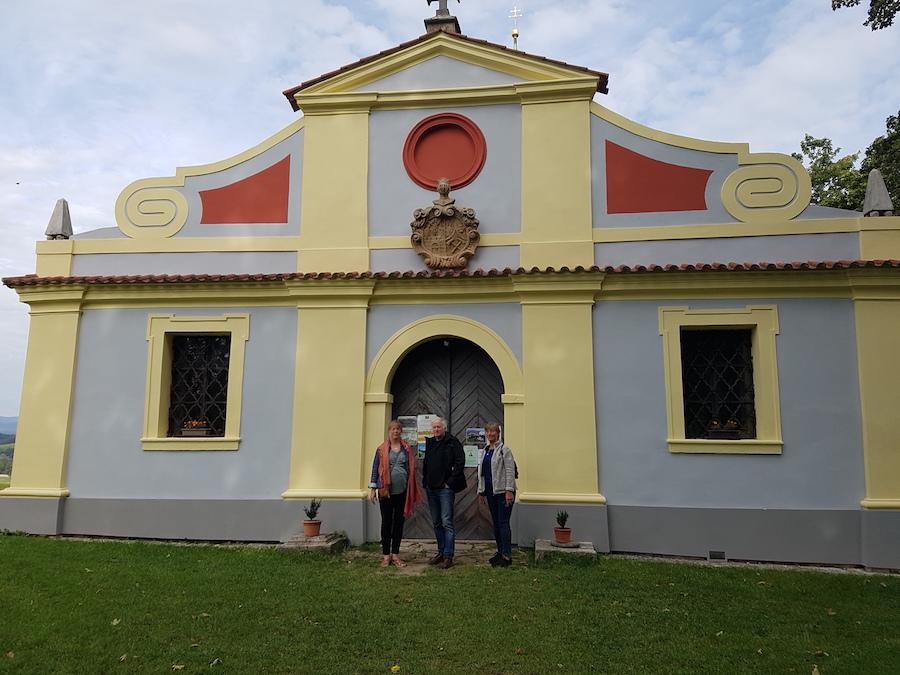Kreuzberger Kapelle som ägdes av släkten Neumüller